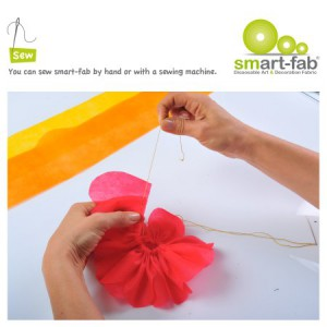 Smart Fab can be sewn