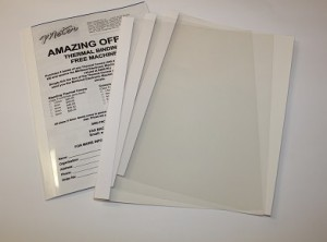 White Thermal Binding Covers