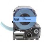 236BB K-Sun 36mm Black on Blue Label Tape