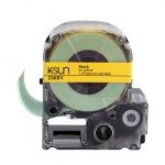 236BY K-Sun 36mm Black on Yellow Label Tape