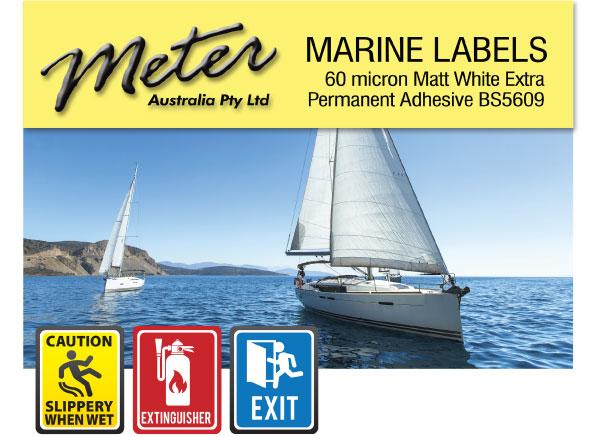 Marine Labels for Laser Printers