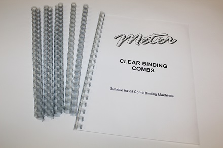 Clear Binding Combs