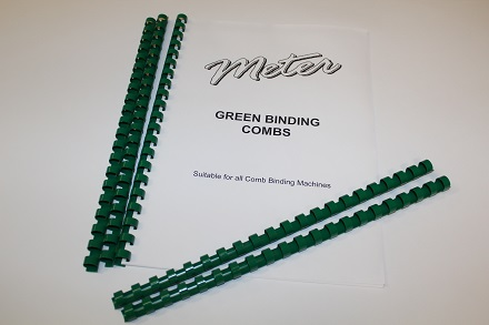 Green Binding Combs