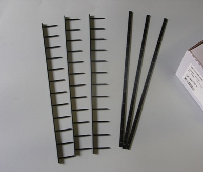 Black Velobind Strips