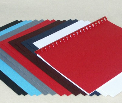 Red Leathergrain Binding Covers