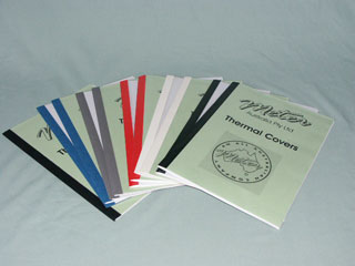 Meter Thermal Binding Covers
