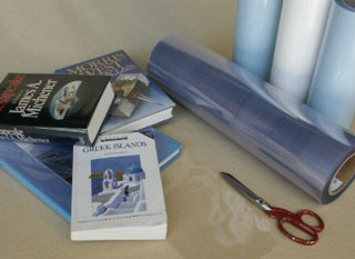 Non Adhesive Book Covering Plastic