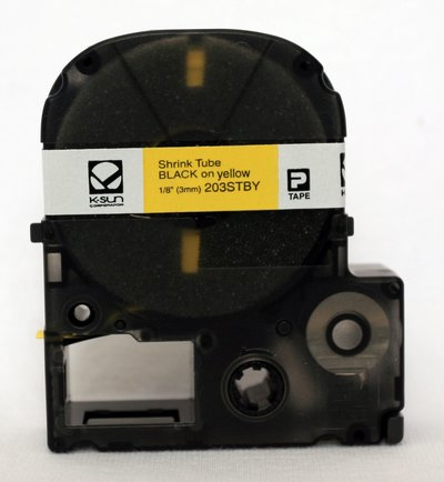 Ksun 203STBY Heat Shrink Tube Label Cartridge