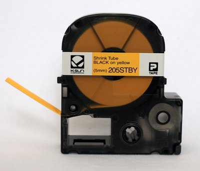 Ksun 205STBY Heat Shrink Tube Label Cartridge