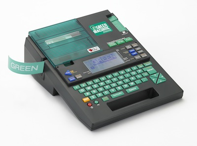 K-Sun Green Machine Label Printers