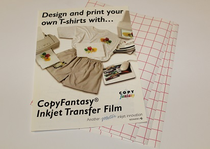 Copyfantasy Iron On Transfer Paper