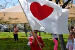 Smart Fab Love Flag