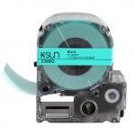 236BG K-Sun 36mm Black on Green Label Tape