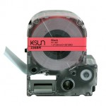 236BR K-Sun 36mm Black on Red Label Tape