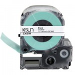 236BW K-Sun 36mm Black on White Label Tape