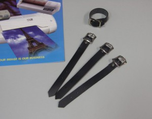 ID Luggage Leather Straps