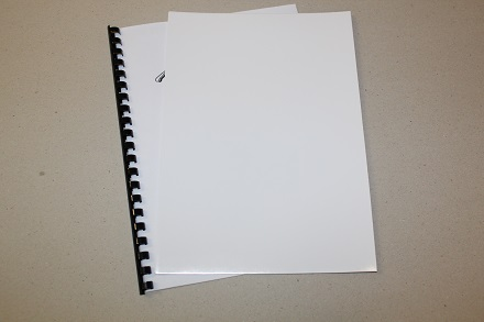 Full Gloss White Binding Covers