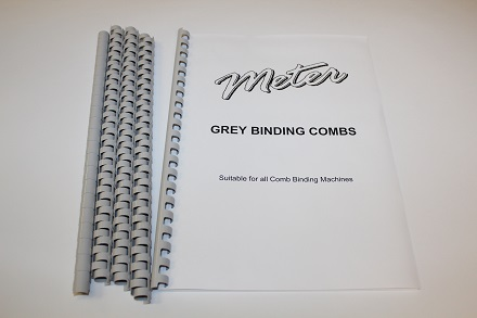 Grey Binding Combs