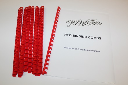 Red Binding Combs