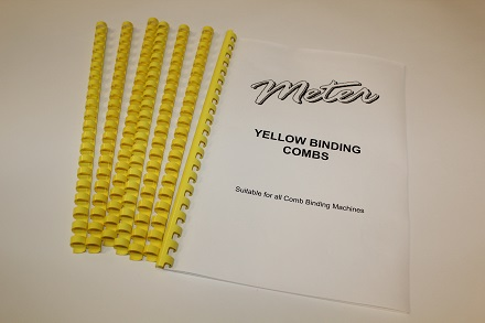 Yellow Binding Combs