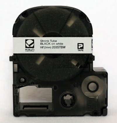 Ksun 203STBW Heat Shrink Tube Label Cartridge