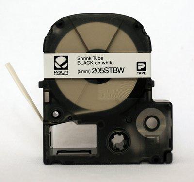 Ksun 205STBW Heat Shrink Tube Label Cartridge