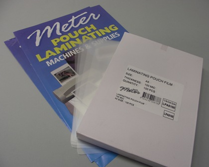 A5 Laminating Pouches 100 Micron