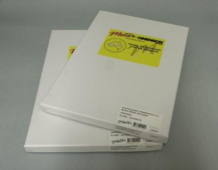 210A3 - Meter A3 OHP Transparency Film Premium - Meter